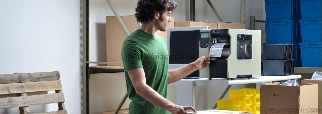 Ứng dụng của máy in mã vạch zebra 110xi4