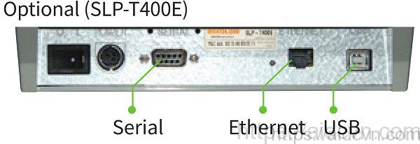 Máy in mã vạch SLP T400