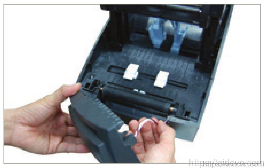 Máy in mã vạch SLP TX400-4