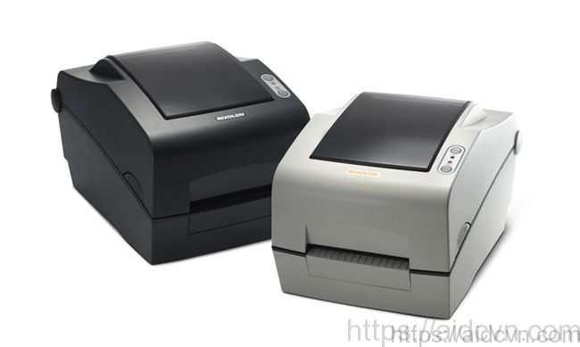 Máy in mã vạch SLP TX400