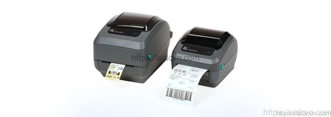 Máy in mã vạch GT800 và GT820