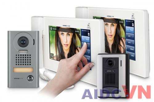 Màn hình chính chuông cửa có hình Aiphone JP-4MED