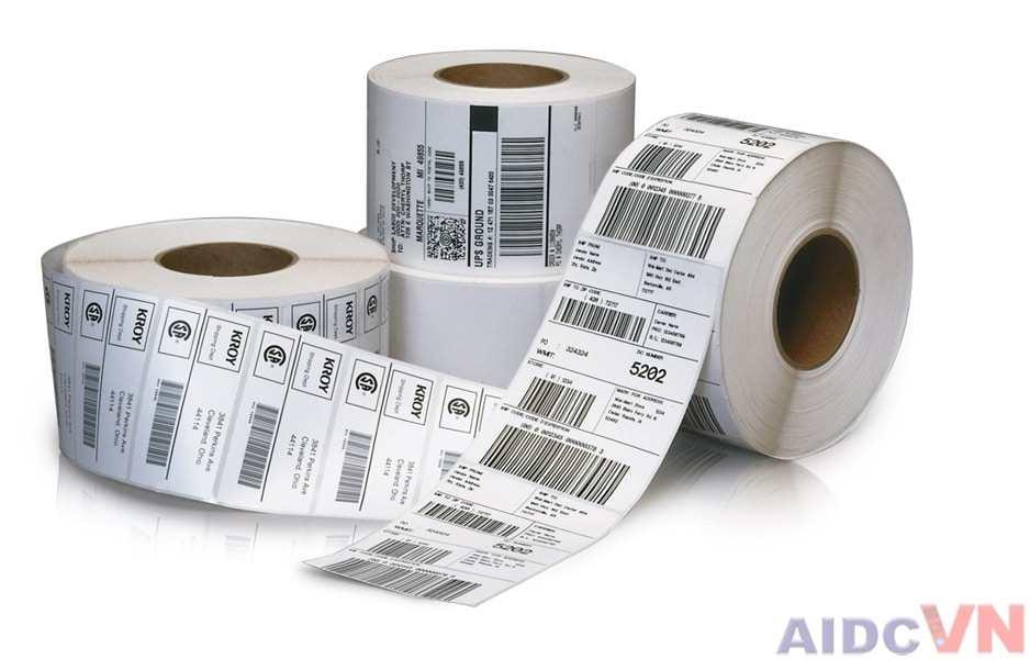in tem nhãn theo yêu cầu của khách hàng