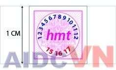 Mẫu in tem bảo hành giá tốt nhất