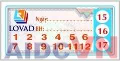 Mẫu in tem bảo hành