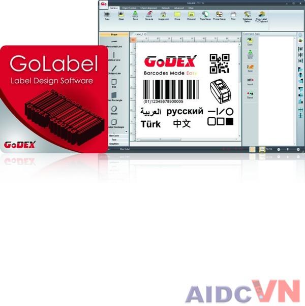 Máy in mã vạch Godex DT2x 203dpi