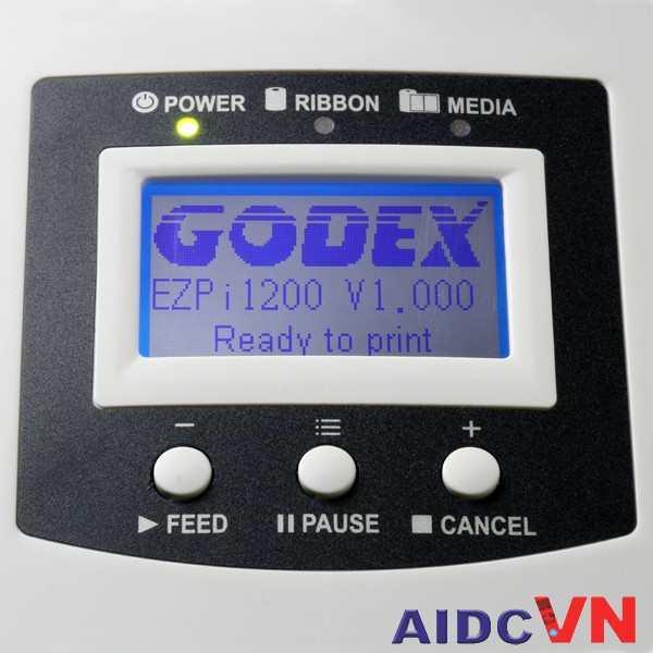 Máy in mã vạch Godex EZPi-1200