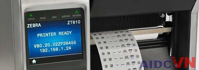 Máy in mã vạch Zebra ZT600 Series