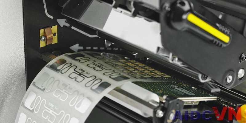 Máy in RFID Zebra zt610
