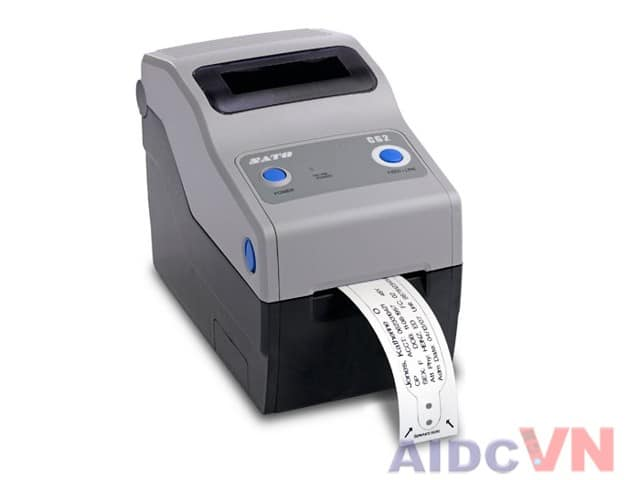 Máy in mã vạch SATO CG2 Series có 2 độ phân giải là 203dpi và 300dpi