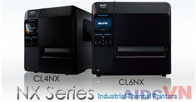 Thế hệ 2 máy in mã vạch Sato CL4NX