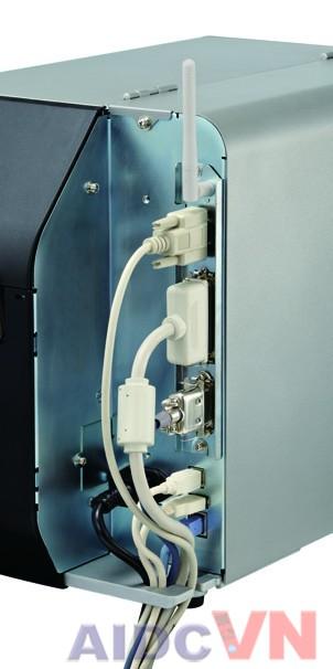 Mặt sau của máy in mã vạch SATO CL4NX