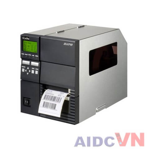 Máy in mã vạch SATO GL412e 300dpi