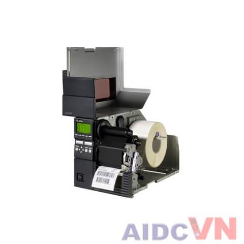 Máy in mã vạch SATO GL412e 300dpi khi mở nắp máy