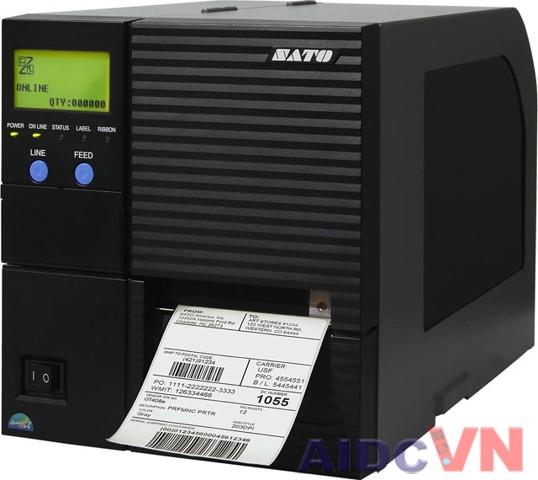 Máy in mã vạch Sato GT424e 600dpi