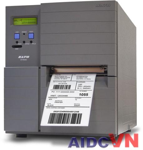 Máy in mã vạch SATO LM412e 300dpi và 203dpi