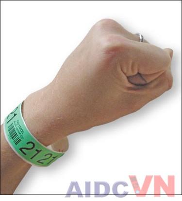 Vòng đeo tay y tế Tyvek
