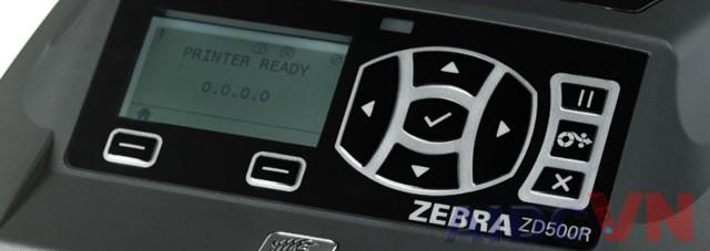 Máy in mã vạch Zebra ZD500R