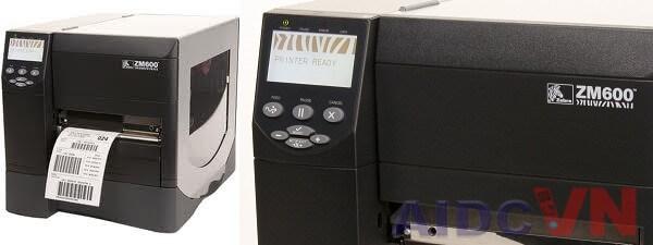 Máy in tem nhãn mã vạch Zebra ZM600