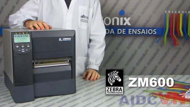 Máy in nhãn Zebra ZM600 thế hệ mới