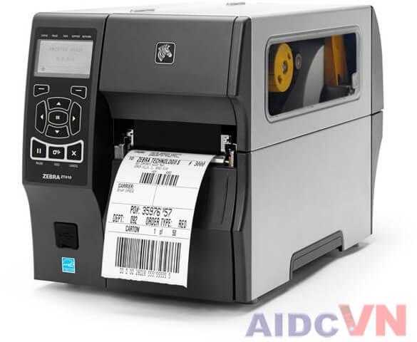 Máy in mã vạch Zebra ZT410 300dpi thế hệ mới