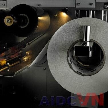 Zebra ZT410 300dpi có đèn soi để thay thế giấy và mực in