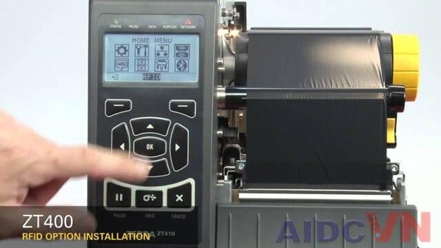Thế hệ máy in ZT410 300dpi