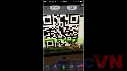 Cách quét mã qr codes
