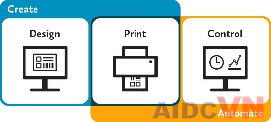 Các bước thiết kế tem nhãn bằng phần mềm bartender