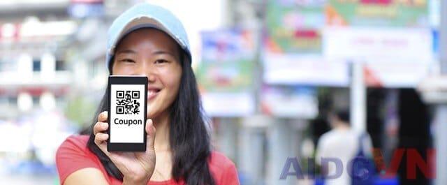 QR code trên điện thoại di động