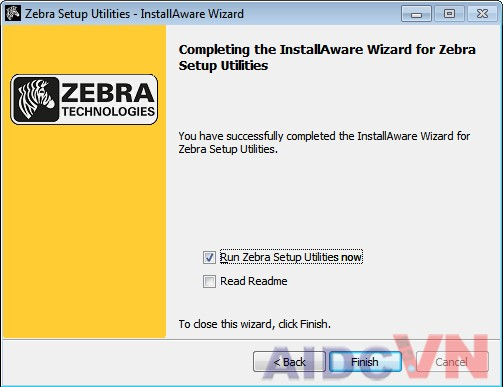 Cài đặt driver cho máy in mã vạch Zebra