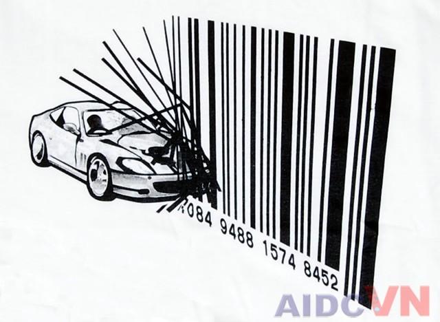 Mã vạch trong ngành ô tô