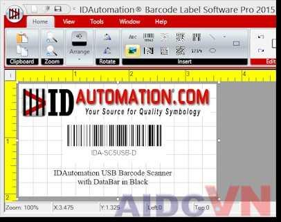 Phần mềm quét mã vạch