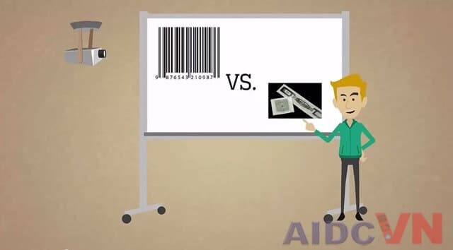 Sự khác nhau giữa công nghệ RFID và mã vạch