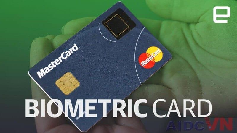 Thẻ bảo mật với công nghệ vân tay