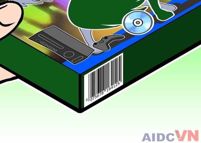 Cách quét mã vạch bằng máy quét mã vạch Bước 2