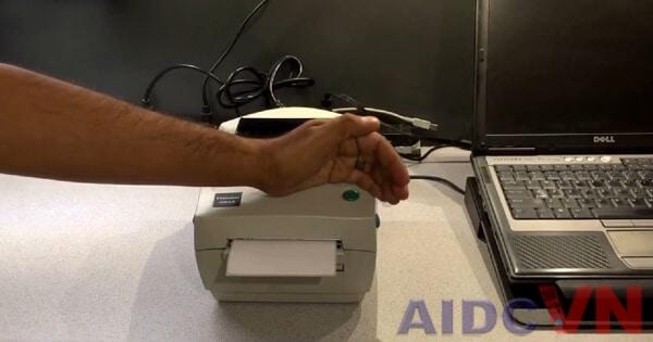 Khôi phục cài đặt mặc định cho máy in mã vạch Zebra LP2844