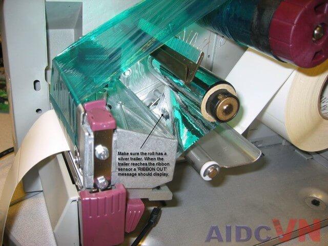 Ribbon màu cho máy in mã vạch thông thường
