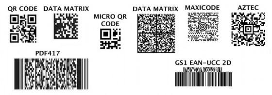 Mã vạch 2D thường dùng trong ngành vận chuyển hàng hóa