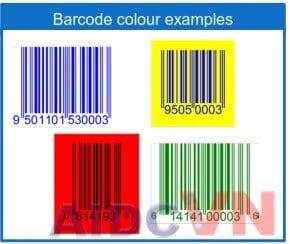 Lựa chọn màu sắc cho mã vạch