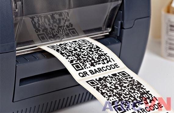 máy in mã vạch không ra chữ