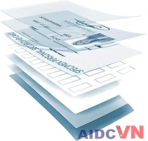 Thẻ bảo mật thông minh Smart Card có thể nhúng dưới nhiều chất liệu