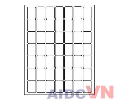 Form in giấy tomy a4 thường dùng