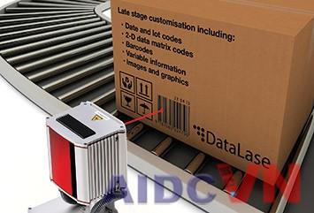 Máy in mã vạch laser cho vận chuyển