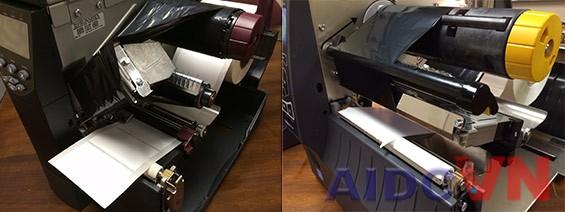 So sánh đầu in của máy in ZM và ZT420
