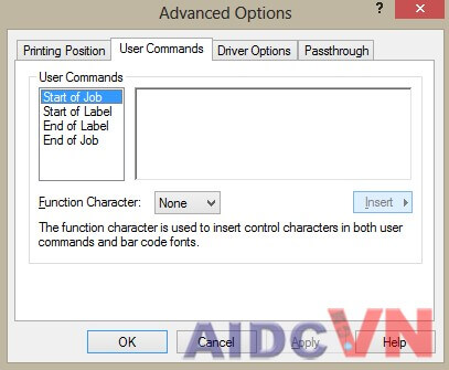 Thiết lập cấu hình tối ưu cho máy in mã vạch 5
