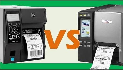 So sánh máy in mã vạch TSC và Zebra