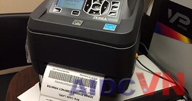 Aidcvn.com revỉew về máy in tem mã vạch Zebra ZD500R