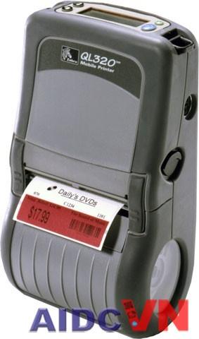 Máy in mã vạch di động Zebra ql320