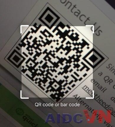Mã QR code trên Chrome